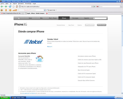 Iphone3G Telcel 03