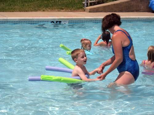 Last swim lesson