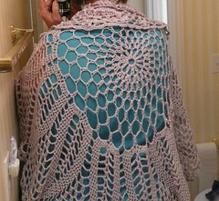 chrysanthemum tea shawl mirror