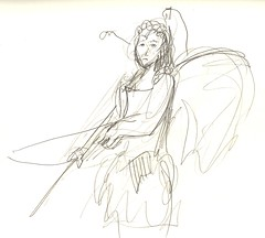 Two Minute Sketch: With Bow & Arrow