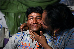 Abdul Halim and Oneka Hijra - Bangladesh (Maciej Dakowicz) Tags: portrait male love sex couple asia transgender relationship transvestite homosexual bangladesh gender msm transsexual shemale hijra onekabangladeshasiahijratransgendereunuchgayhomosexualgenderbangladesh