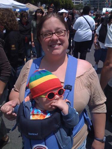 Me and Tai at Pride 08