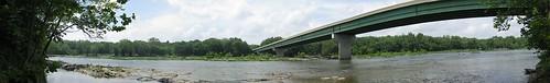 Shenandoah river panorama