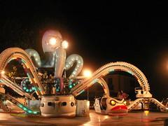 Folpa meccanica (*MICRO*) Tags: fairground carousel octopus lunapark funfair giostre polpo malamocco sagradimalamocco mechanicaloctopus