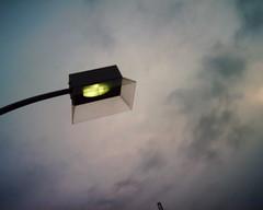 【写真】VQ1005で撮影した街灯@パシフィコ横浜