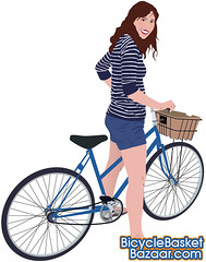 Bicycle Basket Bazaar (George Pollard) Tags: girl bike bicycle illustration northampton basket drawing illustrator bazaar fishmarket vector sugarskullcycles bicyclebasketbazaar wwwsugarskullcyclescom