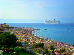 On the beach or on the cruise ship ? (pantherinia_hd Anna A.) Tags: trip travel cruise sea summer vacation sky sun seascape beach swim relax fun island aquarium sand europe mediterranean ship hellas greece destination umbrellas rodos rhodes rodi 5photosaday mywinners abigfave lifebeautiful ysplix mygearandmepremium mygearandmebronze mygearandmesilver