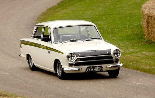 Lotus Cortina Goodwood Festival of speed 2008 (by richebets)