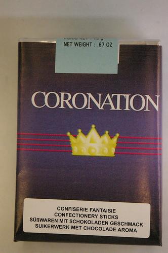 Coronation childrens cigarettes