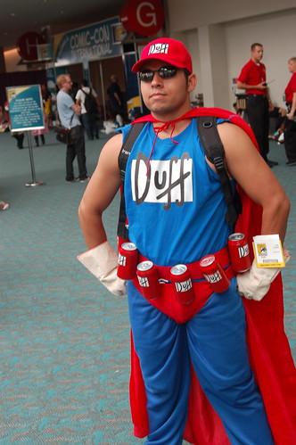 Comic Con 2008: Duffman