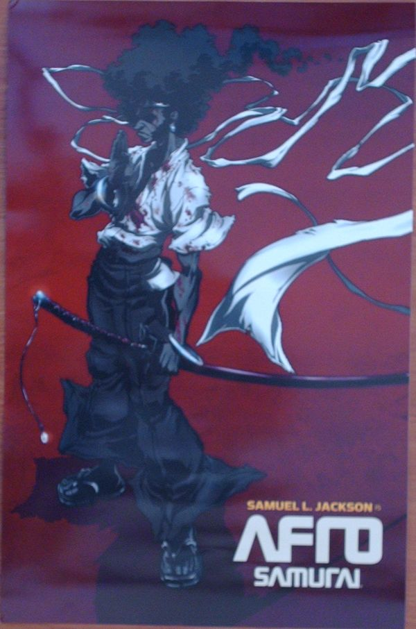 Comic-Con loot 16 - afro samurai