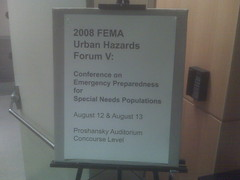 FEMA Conference on Special Needs