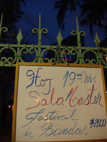 Festival de Bandas. Santiago, Chile.