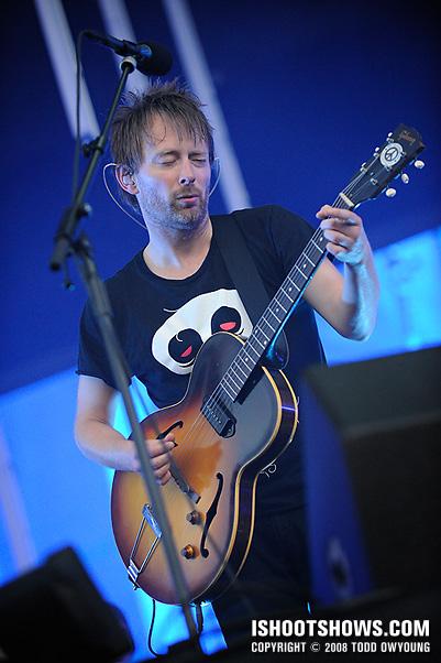 Radiohead @ Lollapalooza