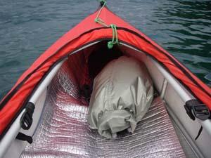 カヤックの防水袋