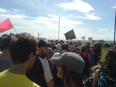 March to Kingsnorth power station