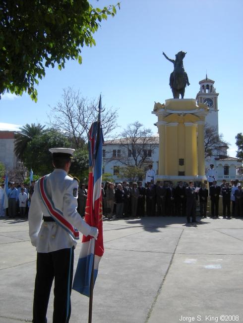 Homenaje a San Martín
