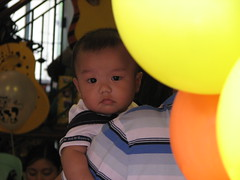 Attending Cade's 1st Bday