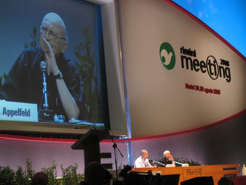 Aharon Appelfeld at Meeting 2008, Rimini