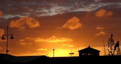 atardecer en salinas (jose.rebollar) Tags: atardecer asturias salinas puesta nube asturies resplandor castrilln