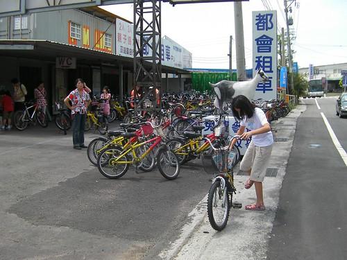 東豐綠色走廊—單車租車店