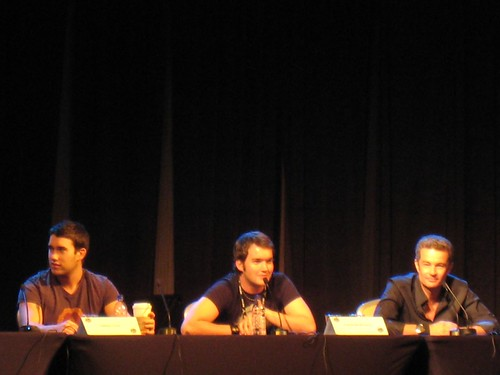Anthony Lewis, Gareth David Lloyd, and James Marsters
