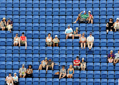 US Open Doubles (noamgalai) Tags: nyc friends people ny newyork sport photography photo sitting stadium crowd picture couples arena tennis photograph seats sit fans seated allrightsreserved doubles צילום תמונה usopen photomania נועם arthurashe noamg noamgalai נועםגלאי גלאי כלהזכויותשמורות צלםמקצועי צלםספורט sitesports