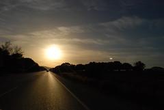 Street To Sun! (peezza82) Tags: street sea summer sun mar spain strada mediterraneo mare estate andalusia sole spiaggia spagna tarifa oceano atlantico lastrada peezza82 modenaciyramblers
