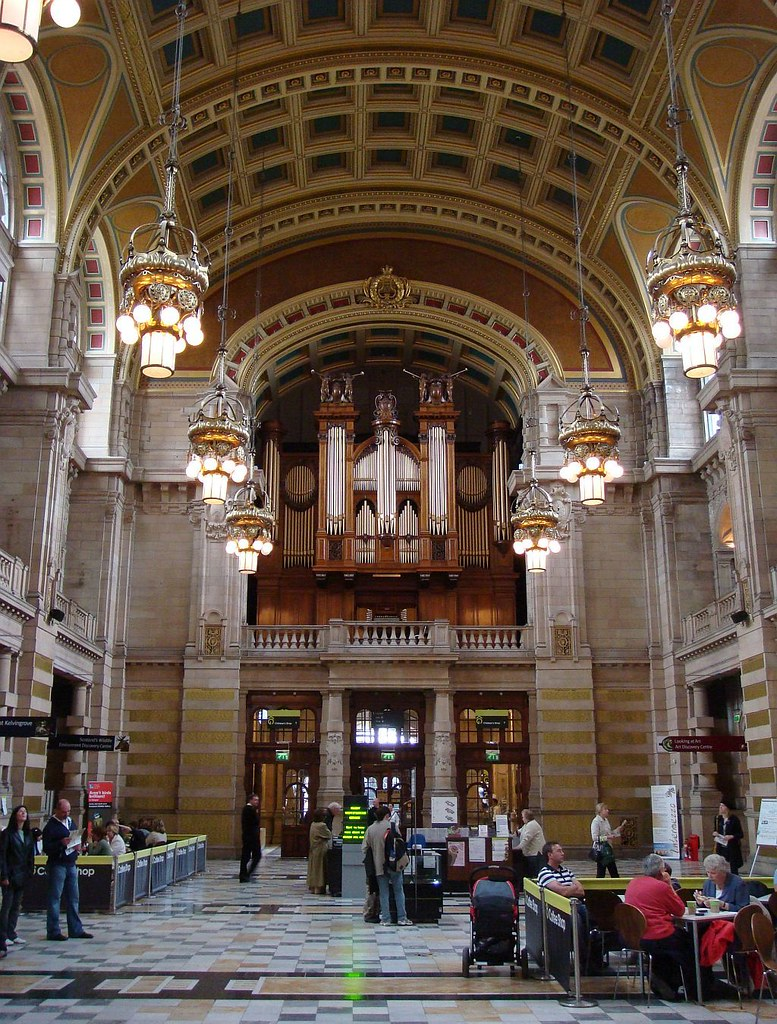 Desseins Éternels: The Organ at Kelvingrove Art Gallery and Museum, Glasgow, Scotland