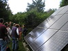 Solar panels at Vineyard Electric Project