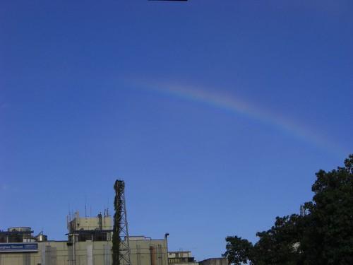 你拍攝的 Eason上班途中‧遇見彩虹。