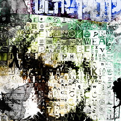 UltraPOP (Village9991) Tags: girls people art andy colors graphics factory mosaic letters deception photomosaic pop popart illusion letter warhol ultra village9991