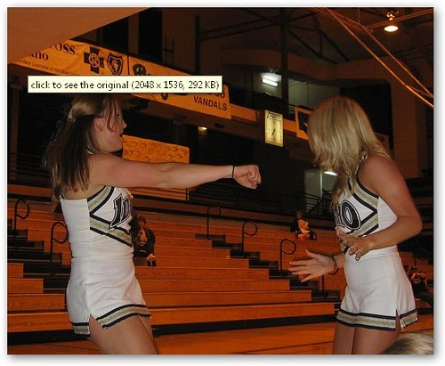 Idaho Cheerleader Fight