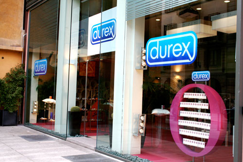Durex Temporary Store front right
