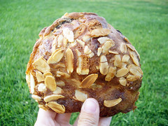 almond croissant from jacques torres