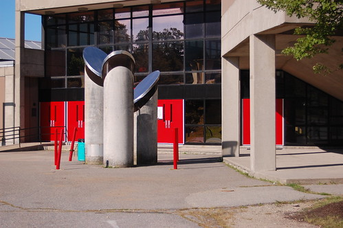 Durfee Auditorium Entrance