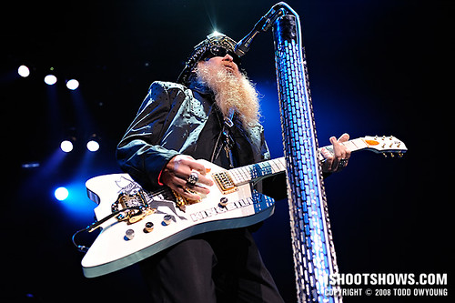 ZZ Top @ the Fox Theatre -- 2008.09.30
