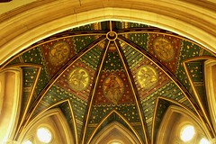 Birdingbury - St Leonard's apse roof