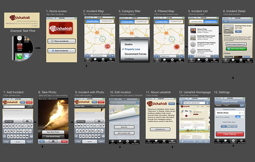 Ushahidi iPhone Interface v0.3