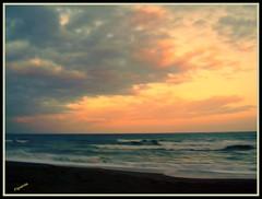 ATARDECER Nº 16 (Machu1) Tags: españa paisajes color colour sol colors sunrise atardecer mar agua europa playa andalucia cielo sur malaga figuerola