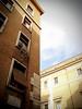 Via del Melone (pucc) Tags: city blue sky rome color roma building colors architecture clouds digital buildings italia blu sony diagonal fausto puccio pucc cieloromano