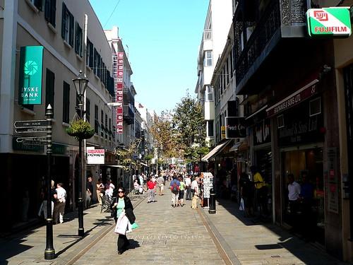 Las tiendas en Gibraltar