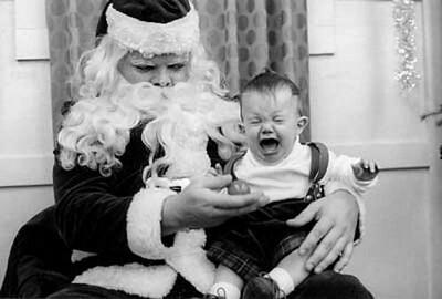 Funny Santa Pics by Scott Clark