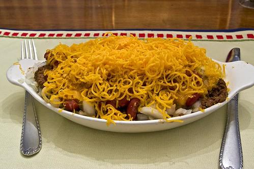Homemade Cincinnati 5-Way Chili