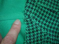 green cord jean jacket
