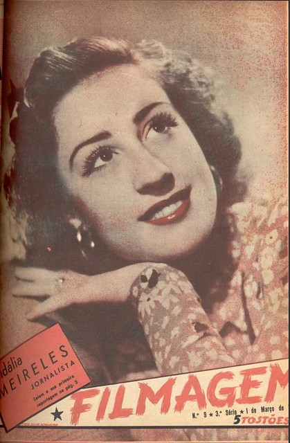 Filmagem, No. 9, March 1 1940s, Cidália Meireles