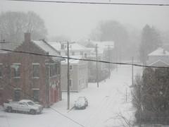 Snowy streets, 2
