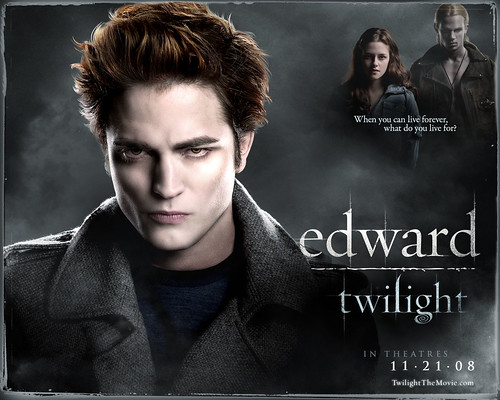 wallpaper twilight edward. Edward: Edward Twilight Cover