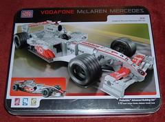 McLaren Mega Bloks tin