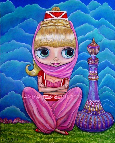 I Dream of Jeannie by Blonde Blythe